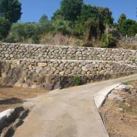 石積み工事の写真